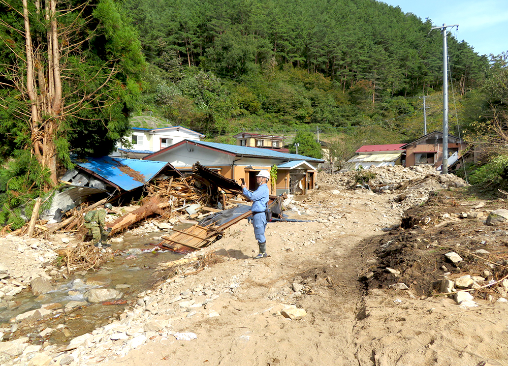 土砂災害防止法調査